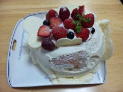 2012誕生日ケーキ