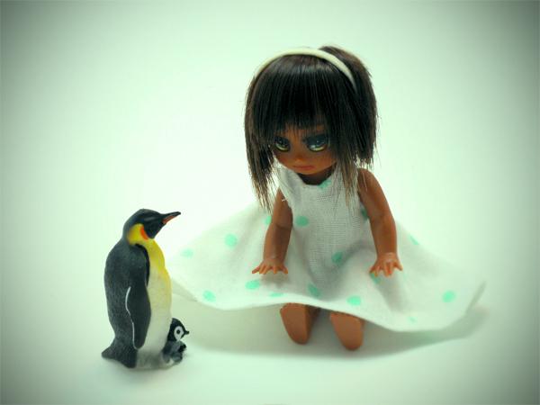 エリサとペンギン
