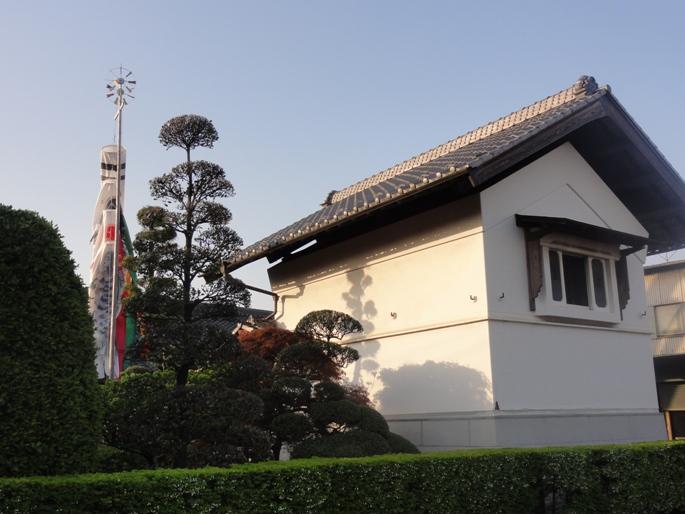 2012428蔵&鯉のぼり