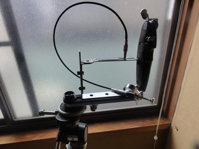 デジタルカメラ三脚ホルダー(自作)