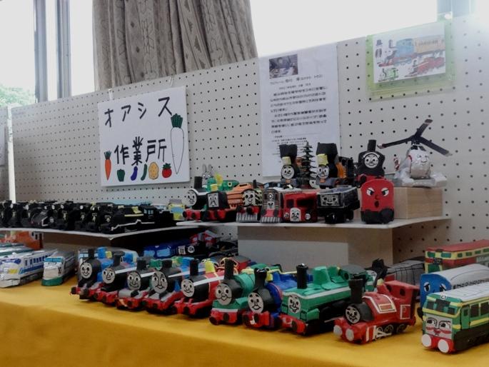 20120601町会文化祭 オアシス作業所
