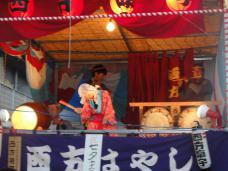 20120805七夕祭り 西方はやし
