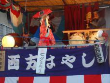 20120805七夕祭り 西方はやし2