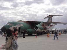 2012入間基地航空ショー 展示 航空機ーC-1 -2