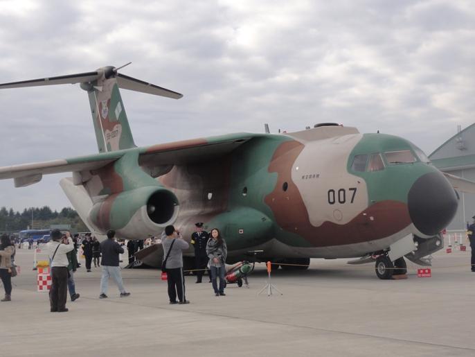 2012入間基地航空ショー 展示 航空機ーC-1