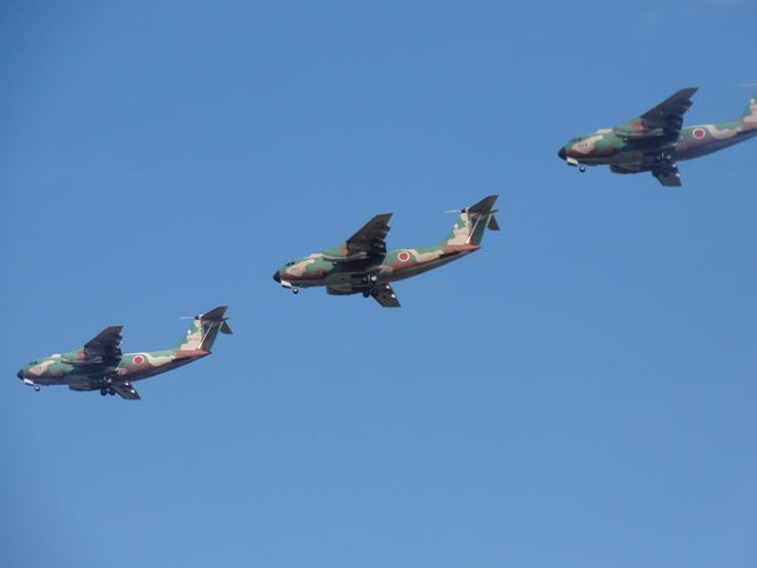 2012入間基地航空ショー 展示 航空機ー8-5