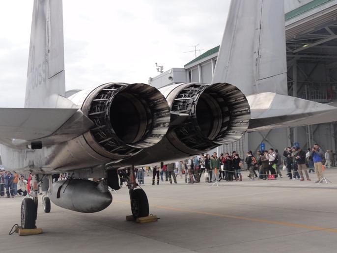 2012入間基地航空ショー 展示 航空機ー6-3