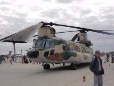 2012入間基地航空ショー 展示 航空機ーヘリ 2