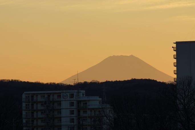 年末の落日20131230富士A