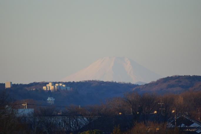 20140101入間川豊水橋からの初富士山-1A