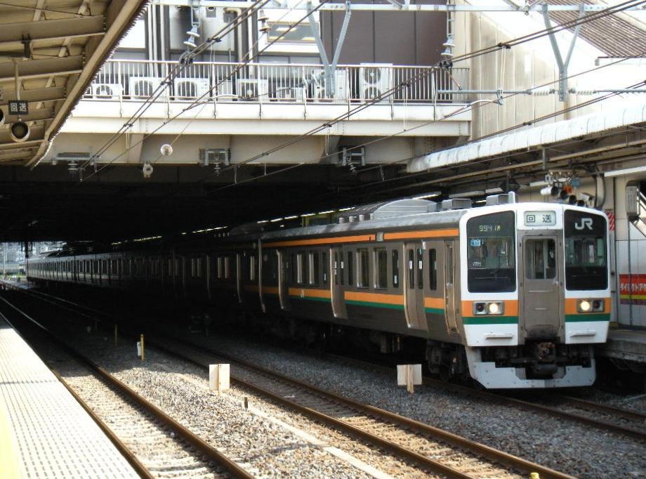 チタ211系 疎開回送 (1)