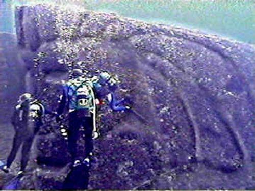与那国島海底スフィンクス
