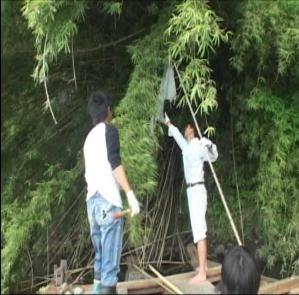 ホタル舟河川清掃-4