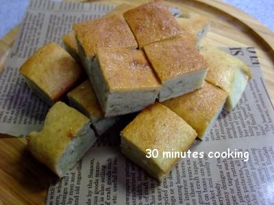 ホットケーキミックスDEバナナパウンドケーキ