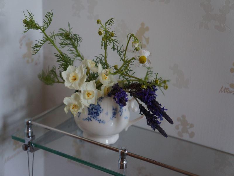 トイレにも花
