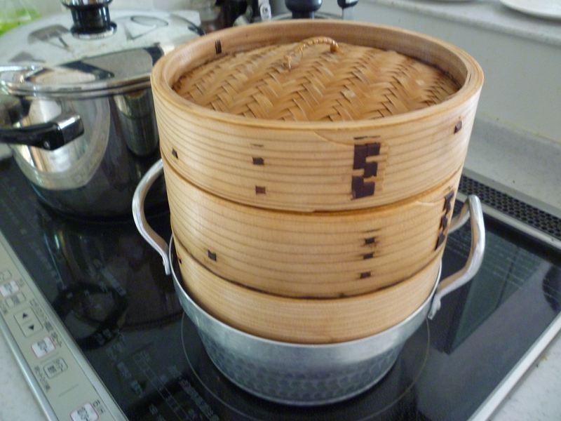 中華用蒸し器
