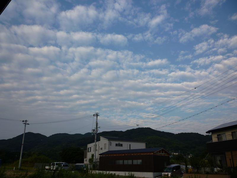 9月22日の朝空