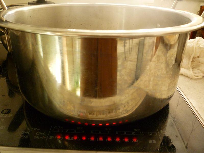 こんなにデカイ鍋です