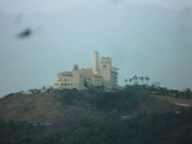 山の上の素敵なホテル