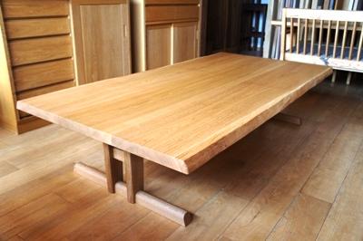 ローテーブル・ナラ材