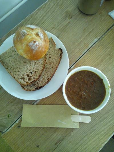【Boulanger Lunettes】 パンとカレーのセット !!