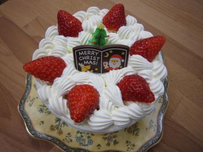 2012 X'mas ケーキ デコレーション 5号サイズ