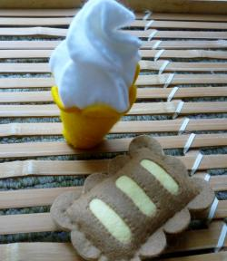 ソフトクリーム&アップルパイ