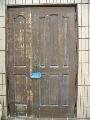 ドア塗装1