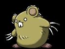 №3爪ネズミ[黄]