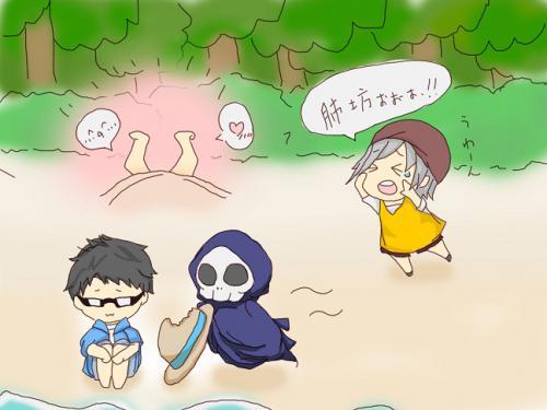 夏休み企画絵2