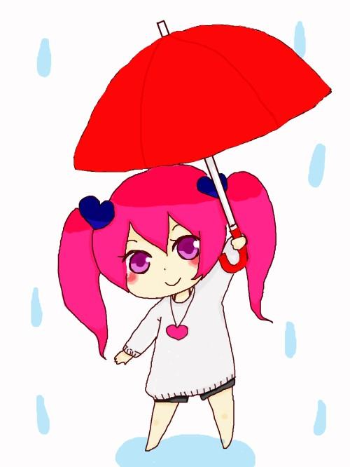 傘差し心ちゃん