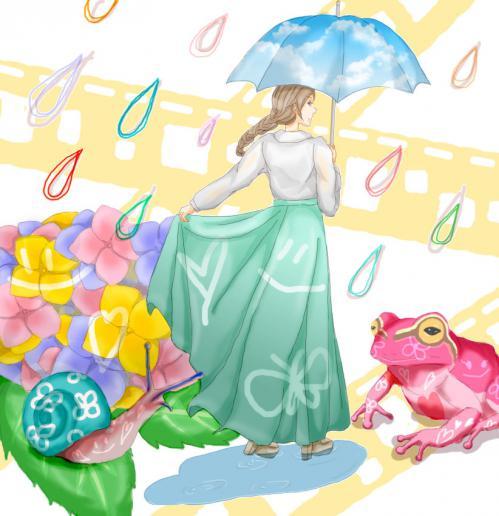 雨の日(小腸)