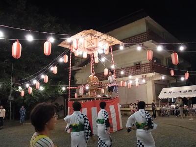 木月1丁目盆踊り-5