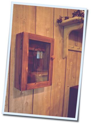 ガラス扉のキーボックス (3)