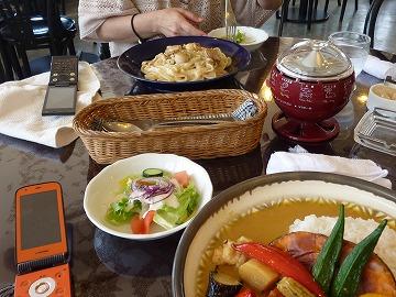 鳥取砂丘 昼食