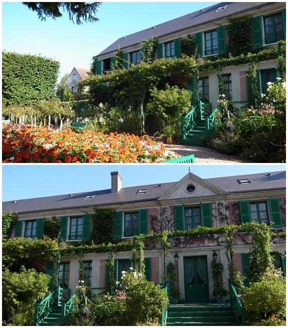 モネの家前
