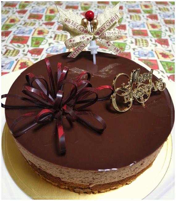 クリスマスケーキ全体