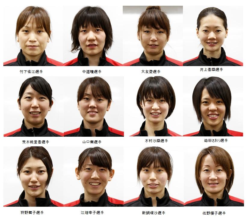 バレーボール メンバー 全日本 女子