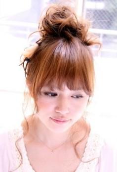 梅雨に強いヘアアレンジ5