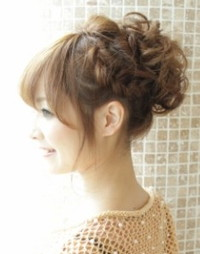結婚式★お呼ばれの髪型