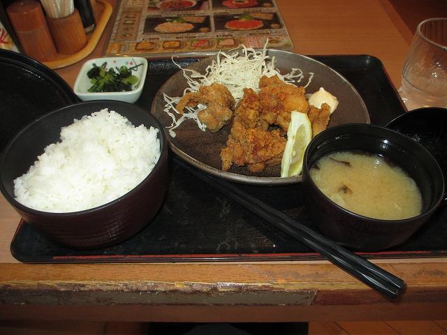 平成25年3月27日・大安・居酒屋天狗志木店・ランチ