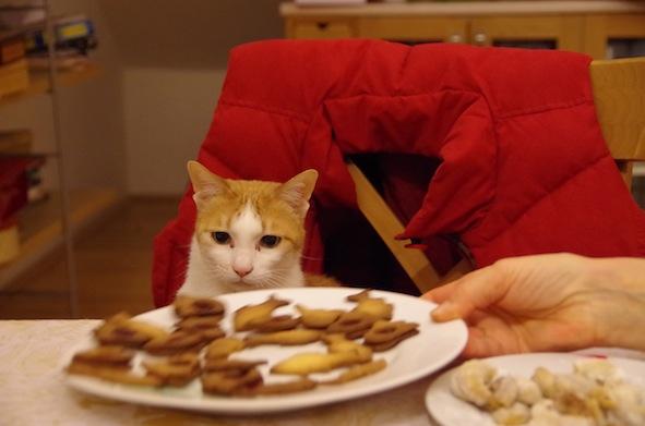 チャップリンとクッキー