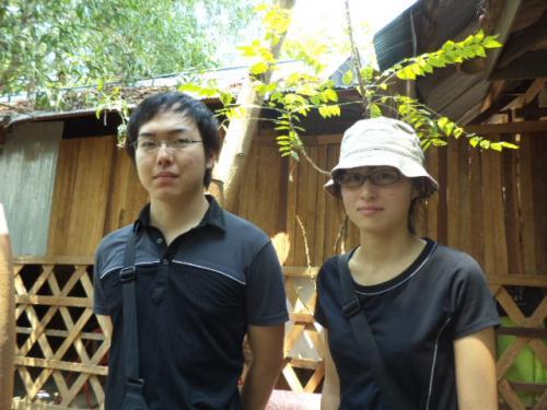 東京の小堀さん、林さんカップル