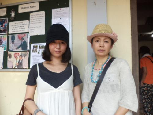 静岡の佐野さん母娘