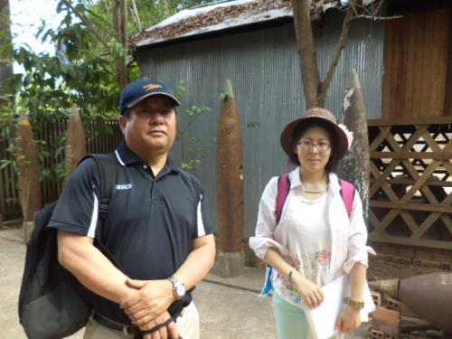 神戸の岡林さんとベトナム在住の沖山さん