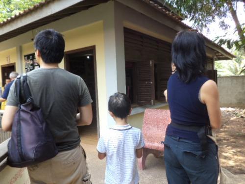 スリランカ在住の林さん家族