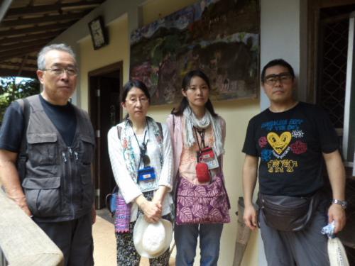 福岡の濱ノ園さんと千葉の仁和さん家族