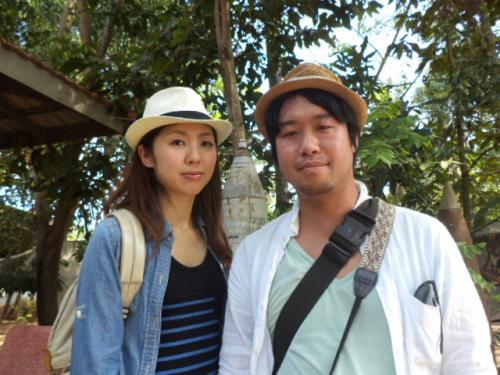 東京の佐野夫妻
