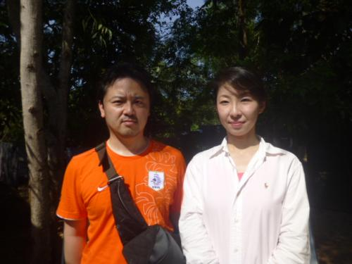 東京の秀島夫妻