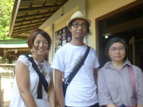 ベトナム在住の杉田夫妻と東京の渡辺さん